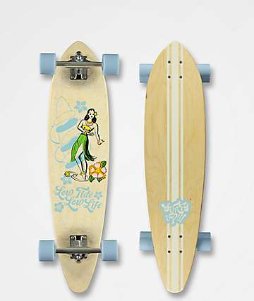 "Mercer Low Tide 35"" Pintail longboard completo"