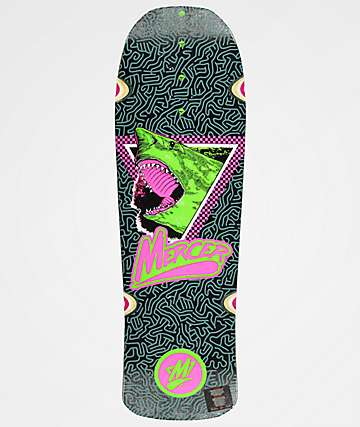 "Mercer Megalodon Slash 9.75"" Cruiser Skateboard Deck"