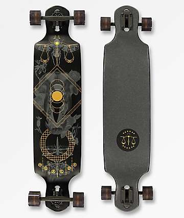 "Mercer Phantom 40"" Double-Drop Longboard Complete"