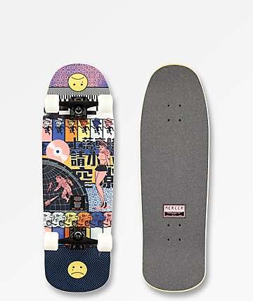 """Mercer Polyphonic 32"""" Cruiser Skateboard Complete"""
