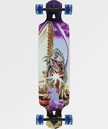 """Mercer Rex Wizard 38"""" longboard completo"""