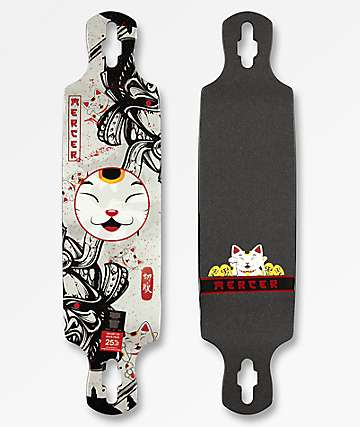 "Mercer Samurai Luck 38"" Double Drop Longboard Deck"
