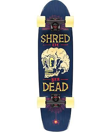 """Mercer Shred Til Yer Dead 31"""" skateboard cruiser completo"""