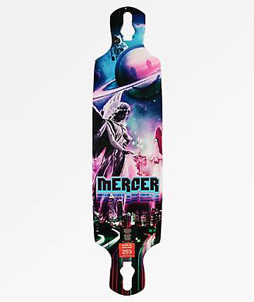 "Mercer Surreal 38"" Double Drop Longboard Deck"