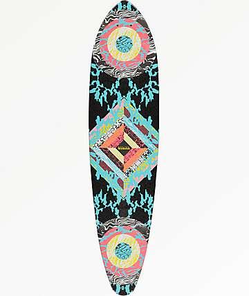 """Mercer Woodstock 35"""" tabla mini pintail longboard"""