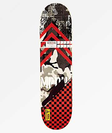 "Meridian Bomber Series Crow 8.0"" Skateboard Deck"
