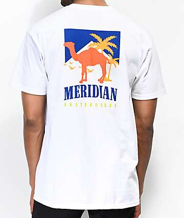 Meridian Camel Back White T-Shirt