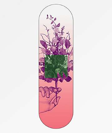 "Meridian Skateboards In Bloom Pink 8.0"" Skateboard Deck"