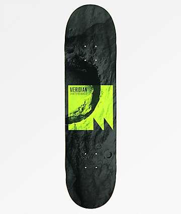 "Meridian Skateboards Lift Off 8.0"" tabla de skate en gris"