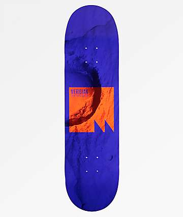 "Meridian Skateboards Lift Off 8.5"" Blue Skateboard Deck"
