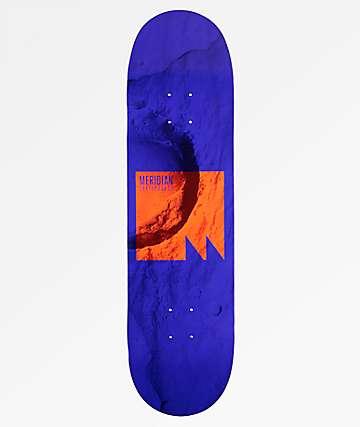 """Meridian Skateboards Lift Off 8.5"""" tabla de skate en azul"""