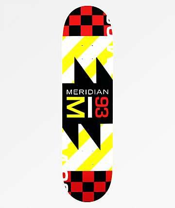 "Meridian Skateboards Squared 93 8.25"" Skateboard Deck"