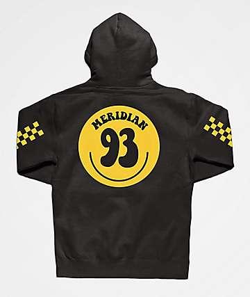 Meridian Smile 93 Black Hoodie