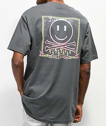 Metal In The Microwave Pirate camiseta gris