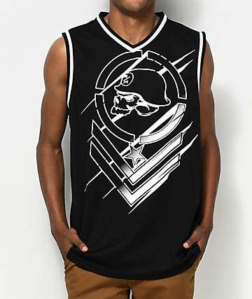 Metal Mulisha Direct jersey negro