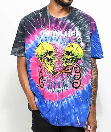 Metallica Live Tie Dye T-Shirt