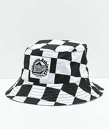 Milkcrate Checker Bucket Hat