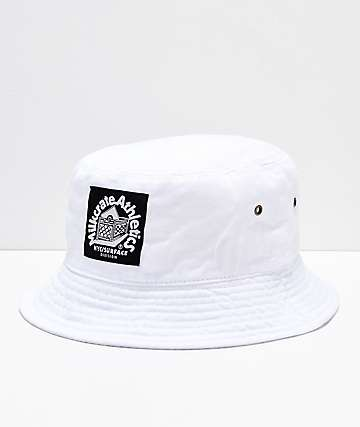 Milkcrate Solid White Bucket Hat