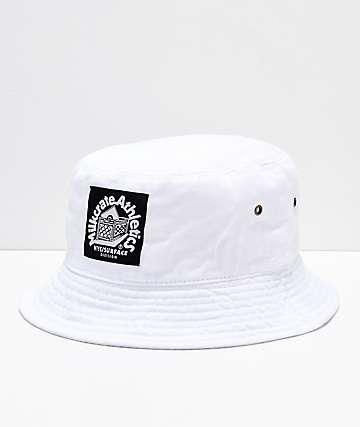 Milkcrate sombrero de cubo blanco