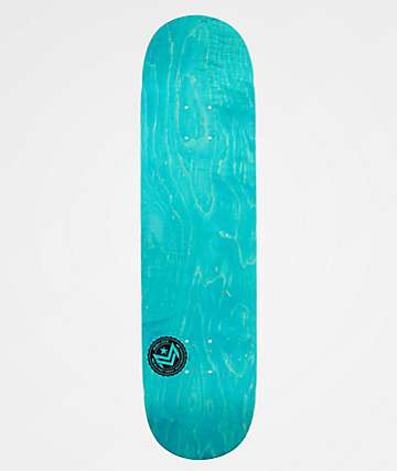 "Mini Logo Blue Chevron 8.0"" Skateboard Deck"