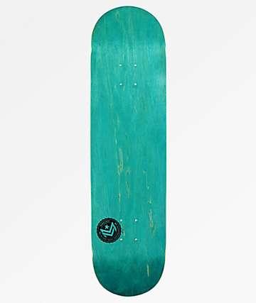 "Mini Logo Blue Chevron 8.5"" Skateboard Deck"