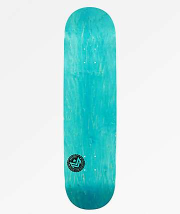 "Mini Logo Chevron Blue 8.25"" Skateboard Deck"