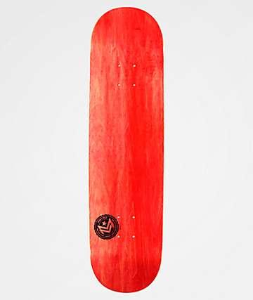 "Mini Logo Chevron Stamp Red 8.25"" Skateboard Deck"
