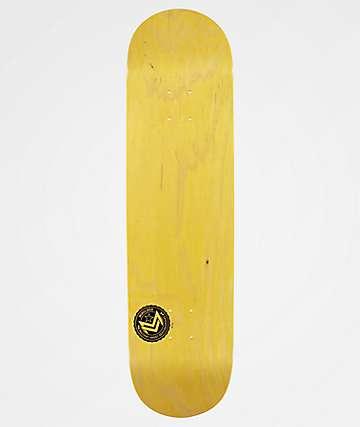 "Mini Logo Chevron Stamp Yellow 8.5"" Skateboard Deck"