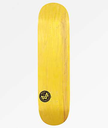 "Mini Logo Chevron Yellow 7.75"" Skateboard Deck"