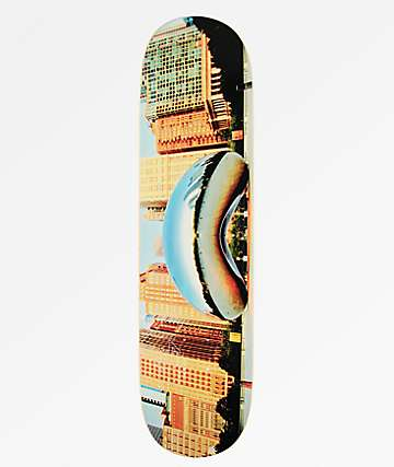 "Mini Logo Chicago Bean 8.0"" Skateboard Deck"