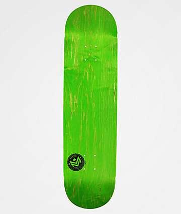"Mini Logo Green Chevron 8.5"" Skateboard Deck"