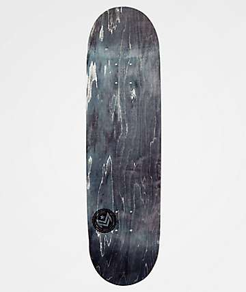 "Mini Logo Grey Chevron 8.5"" Skateboard Deck"