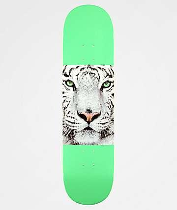 """Mini Logo Tiger Mint 8.0"""" Skateboard Deck"""