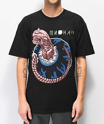 Mishka Chestburst Black T-Shirt