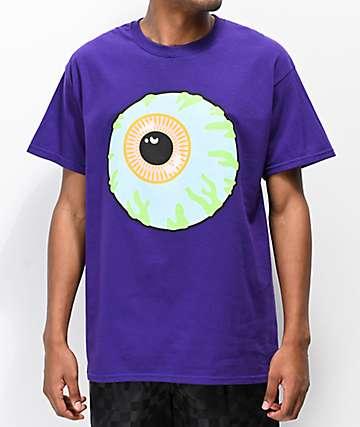 Mishka Classic Eye Purple T-Shirt