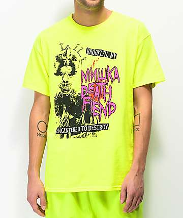 Mishka Death Fiend Bright Green T-Shirt