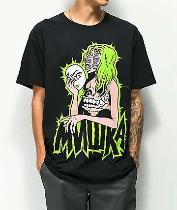 Mishka Mouths Of Madness Black T-Shirt