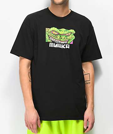 Mishka Reptiliant Black T-Shirt