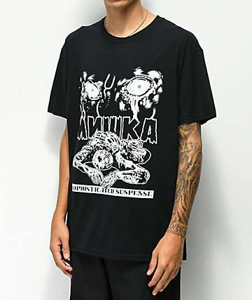 Mishka Suspense Black T-Shirt