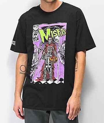 Mishka x Misfits GID Black T-Shirt