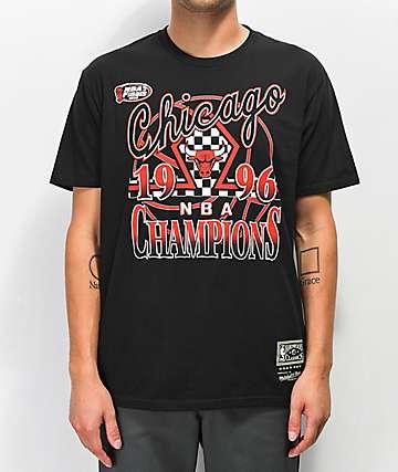 Mitchell & Ness Bulls '96 Champions camiseta negra