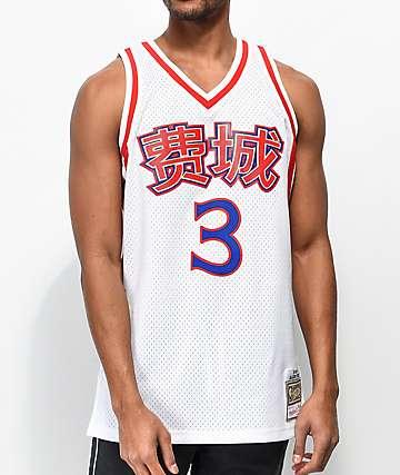 Mitchell & Ness Iverson 76ers Chinese New Year Basketball Jersey