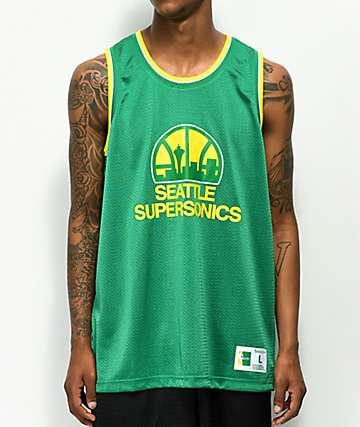 Mitchell & Ness Sonics Mesh Basketball Jersey