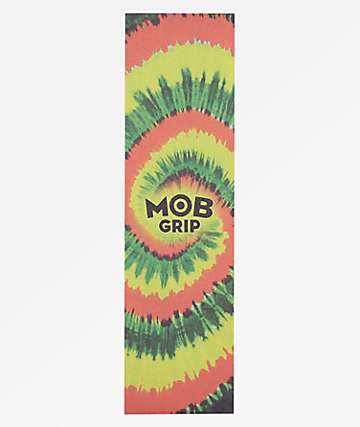 Mob Grip Red, Green & Yellow Tie Dye Grip Tape