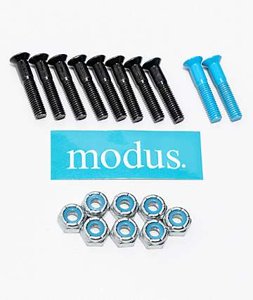 "Modus 1"" Blue & Black Phillips Hardware"
