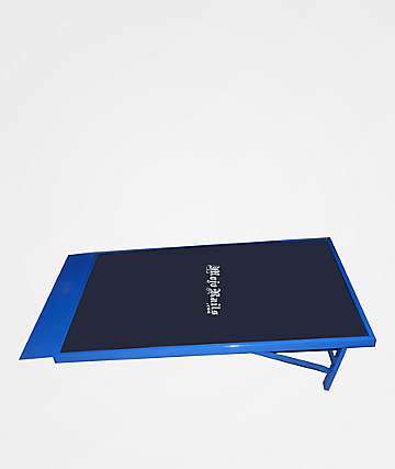Mojo Rails Blue Wedge Ramp