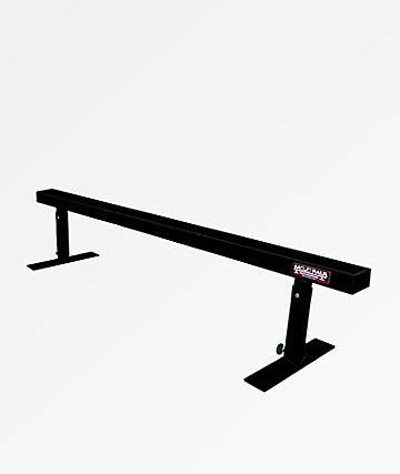 Mojo Rails Flat Bar Black Grinding Rail