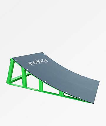 Mojo Rails Green Sky Ramp