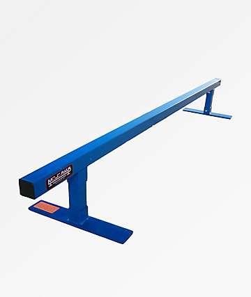 Mojo Rails Square Blue Grinding Rail