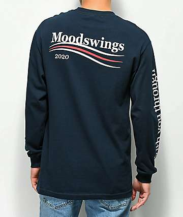 Moodswings 2020 Vision Navy Long Sleeve T-Shirt
